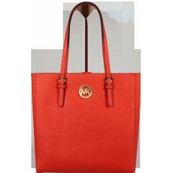 Michael Kors kožená kabelka NS Tote Mandarin Oranžová alternatívy ... 3b4de3c8555