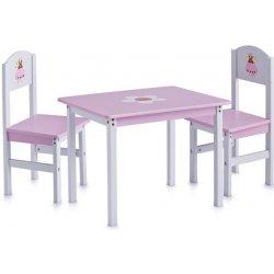 1c88841e6931 Zeller dětský stolek Princess + 2 židličky alternatívy - Heureka.sk