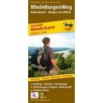 PublicPress Wanderkarte RheinBurgenWeg, 26 Teilkarten