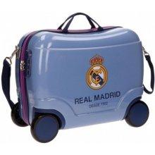 2e383cf87e4df Detský kufrík Real Madrid Futbol Time blue 25 l
