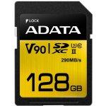 ADATA SDXC karta 128GB UHS-II U3 ASDX128GUII3CL10-C