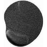 GEMBIRD Podložka pod myš - gelova čierna MP-GEL-BLACK