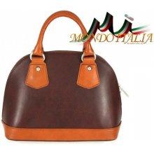 95c73c08ff Made In Italy kožená kabelka 900 hnedá+koňak