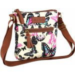 Miso Canvas Side Bag Butterfly Print