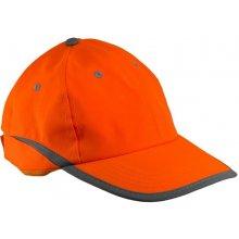b6bb37223006 Pracovná reflexná šiltovka HivGNT oranžová