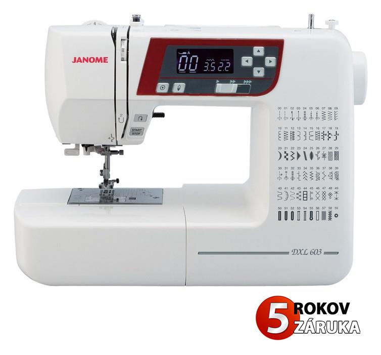 šijací stroj JANOME 603