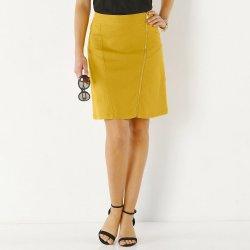 3880351849 Dámska sukňa so zipsom šafránová alternatívy - Heureka.sk