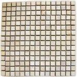 Mramorová mozaika Garth- krémová, 30 x 30 cm obklady