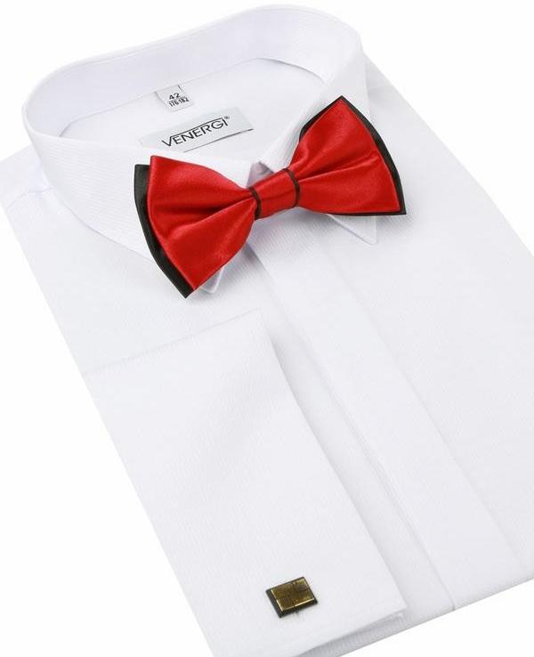 3d36bf016e29 Venergi Slávnostná biela košeľa na manžetové gombíky (klasický strih)  alternatívy - Heureka.sk