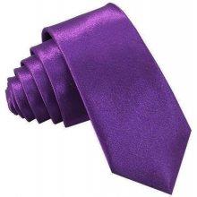 Kravata úzka fialová