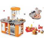Smoby kuchynka Tefal Studio XL a Écoiffier hamburger set 100% Chef 311026-22