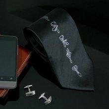 Kravata s návodom k uviazaniu