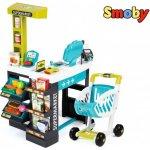 fcb0ffaeb275 SMOBY 350206 Obchod Supermarket s čítačkou kariet a vozíkom