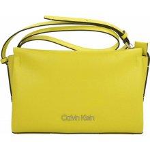 69c2d61d25 Calvin Klein žltá crossbody kabelka Avant EW Crossbody Lime