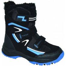 Loap Nori čierna/modrá etská zimná obuv KBJ1653-V11L
