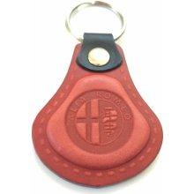 Prívesok na kľúče Kožená Alfa Romeo červená AUTO Two M 24886ec1610