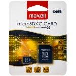 Maxell microSDXC 64GB class 10 + adapter 854731