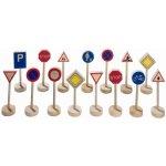 Goki Drevené dopravné značky