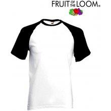 Fruit of the Loom BASEBALL White Black