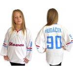 12ab8fb826f39 Trops-Sport Hokejový dres RETRO HC SLOVAN BRATISLAVA dětský - bílý