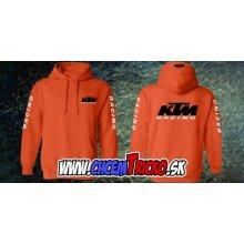 Mikina s motívom KTM racing