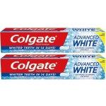 Colgate Advanced White zubná pasta 2 x 75 ml