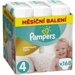 Pampers Premium Care 4 MAXI 168 ks 8-14 kg
