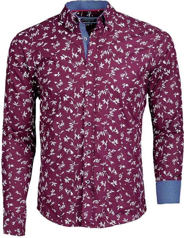 7452400777f4 Pánska košeľa Carisma košeľa pánska 8434 dlhý rukáv slim fit ...