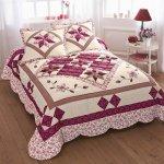 Blancheporte Prikrývka na posteľ patchwork 220 cm x 240 cm