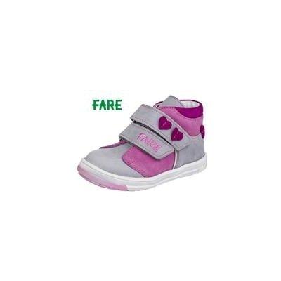 Fare Detská celoročná obuv 2127153 šedo růžová
