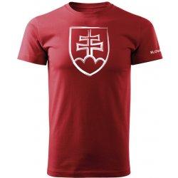 5ee13f15e053 O T krátke tričko slovenský znak červená od 9