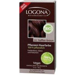 Logona rastlinná farba na vlasy Coffee Brown 100 g