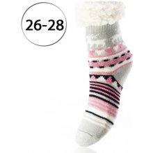 364bd02cb0d4 LOOKeN SM-HL-7202-GP2 Detské ponožky na spanie z ovčej vlny