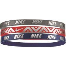 Nike Accessories Nike METALLIC hairbands 3 PACK sivá N.JN.G8.088 d6585c57ff