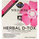 Garden of Life Wild Rose Herbal D-Tox 48 cps.