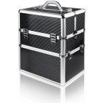 NeoNail Dvojdielny kozmetický kufrík Čierna