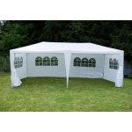 záhradný párty stan - biely, 3 x 6 m