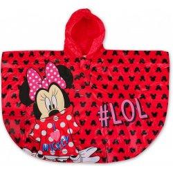 ee58ed2e2 Setino Dievčenské pláštenka / pončo proti dažďu Minnie Mouse (Disney)