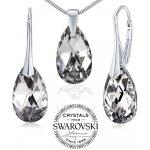 Set strieborných šperkov Argent kvapka so Swarovski Crystals LSW181