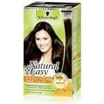 Schwarzkopf Natural & Easy prirodzene nádherná farba vlasov tmavo hnedý zamat 580
