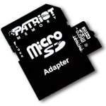 Patriot microSDHC 16GB LX Series class 10 + adaptér PSF16GMCSDHC10