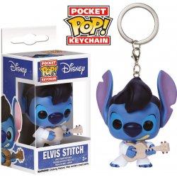 Prívesok na kľúče Lilo   Stitch Pocket POP! vinylová Elvis Stitch 4 ... c3264478ce7