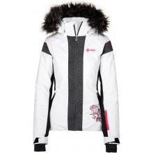 37656457b Kilpi Delia-W dámska zimná lyžiarska bunda biela