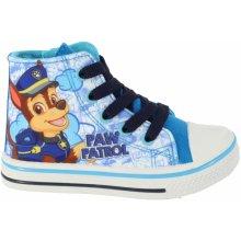 Disney by Arnetta Chlapčenské členkové tenisky Paw Patrol modré 4e31919796f