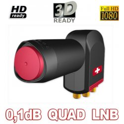 Opticum Red Rocket Quad LNB 0,1 dB