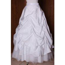 Dámska svadobná sukňa vzor 2. biela