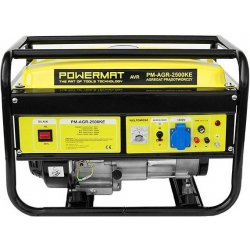 Powermat pm agr 2500ke avr alternat vy for Pm stanley motor cars