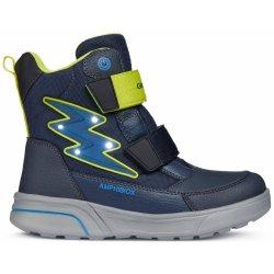 fa281933c Geox Chlapčenské svietiace zimné topánky Sveggen modré od 70,38 ...