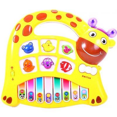 Tulimi Piánko, Žirafa, žltá (1 bal., vek: +3, farba: žltá.)