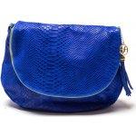 Carla Ferreri kožená kabelka 815G Bluette